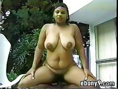 Ebony Girl With Saggy Breasts
