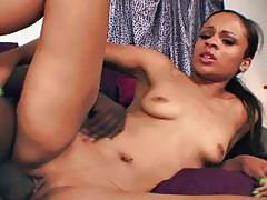 Sexy ebony chick got her pussy eaten