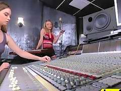 Amateur disc jockey blonde girlfriends radio station scandal